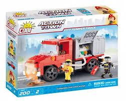 <b>Конструктор Cobi City Pumper</b> Truck 200шт. купить с доставкой в ...