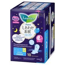 «<b>Гигиенические прокладки</b> Laurier F <b>ночные</b> тонкие с ...
