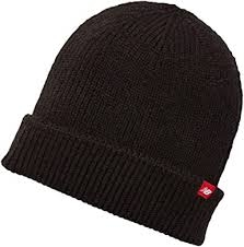 New Balance <b>Watchman's Winter Knit Beanie</b> Black: Amazon.co.uk ...