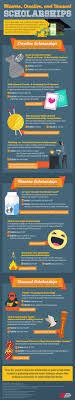 1000 images about scholarships student best unusual college scholarship are all over the internet use this infographic to see if you