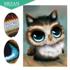 <b>5D</b> DIY <b>New</b> Animals Owl Diamond Embroidery <b>Diamond Painting</b> ...