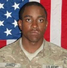 Spc. Dennis James Jr of Deltona, Florida died at age 21 from wounds suffered when insurgents attacked his unit with an improvised explosive device in Wardak ... - Dennis-James3