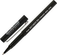 <b>Pentel Роллер</b>, <b>ручка</b> президента <b>Document Pen</b>, черный стержень