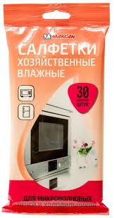 """<b>Салфетки влажные</b> хозяйственные """"Для микроволновых печей и ..."""