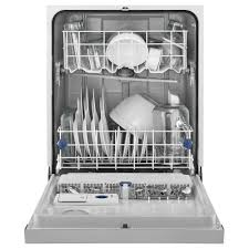 Silverware Dishwasher Wdf520padm Whirlpool Built In Front Control Dishwasher With