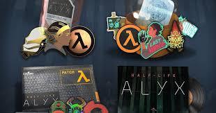 В CS:GO появились <b>значки</b> и шевроны в честь выхода Half-Life: Alyx