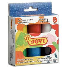 Купить <b>гуашь школьная Jovi</b> 6 цв х15 мл в коробке в интернет ...