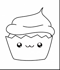 Small Picture Surprising kawaii cupcake coloring pages with cupcake coloring