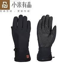 <b>Youpin Graphene Heated Gloves</b> Fingertip Touch Screen USB ...