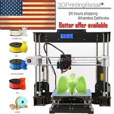 <b>A8 3D Printer</b> High Precision Reprap i3 DIY Kit & LCD2004 <b>CTC</b> ...