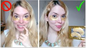 Testing Beauty Products | <b>Crystal Collagen Gold</b> Eye Mask! - YouTube