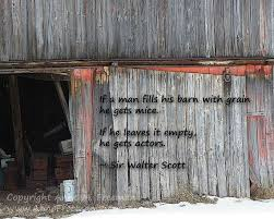 Quote Fun Quote Saying Funny Saying Barn by AnneFreemanImages via Relatably.com