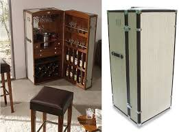 leather bar trunk bar trunk furniture