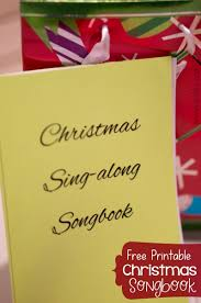 christmas songbook pdf printable a mom s take christmas songbook
