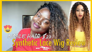 ALIEXPRESS <b>WIGS</b> : <b>NOBLE HAIR</b> $23 <b>SYNTHETIC LACE FRONT</b> ...