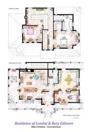 Incredibly Detailed Floor Plans Of The Most Famous TV Show Homes