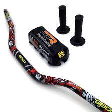"""<b>Motorcycle</b> Motocross <b>1 1/8</b>"""" <b>28mm</b> Handlebars Kit Fat Bar Handle ..."""
