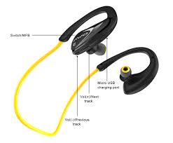 Buy <b>AWEI A880BL</b> WIRELESS HEADPHONES SPORTS (<b>YELLOW</b> ...