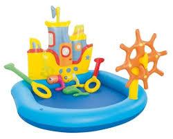 <b>Игровой центр Bestway Tug</b> Boat 52211 — купить по выгодной ...