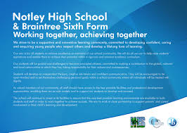 notley high school braintree sixth form notley high school working together achieving together revision