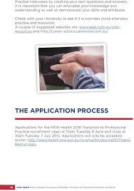 graduate nursing and midwifery transition to professional com au the application process applications for the nsw health 2016 transition to professional