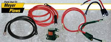 battery cables and solenoids meyer snow plow parts meyer battery cables and solenoids