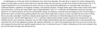 explanation essay mathematical history and explanation of pi at essaypediacom essay on mathematical history and explanation