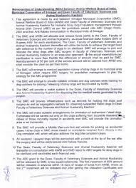 the voice of stray dogs the tripartite memorandum of mou between srinagar municipal corporation smc and awbi pg 1