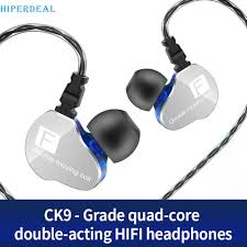 HIPERDEAL <b>QKZ CK9</b> In Ear phone Sport <b>Earphones</b> With Mic ...