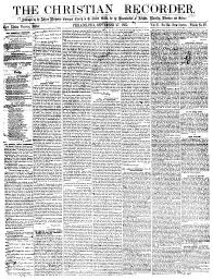 the other s ellen watkins harper common placecommon place 2 front page of the christian recorder 27 1862 where harper s
