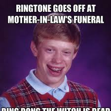 Mother In Law's Funeral by jmask123 - Meme Center via Relatably.com