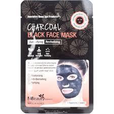 MBeauty Charcoal Black Face Mask <b>тканевая детокс</b>-<b>маска для</b> ...