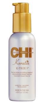 <b>Разглаживающая эмульсия для волос</b> с Кератином CHI Keratin K ...