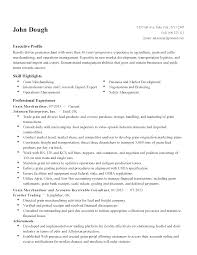 professional grain merchandiser templates to showcase your talent resume templates grain merchandiser