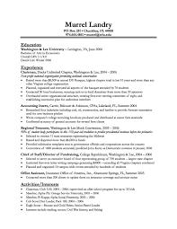 sample resumes for summer internships cipanewsletter resume samples for summer training