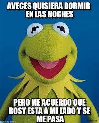Aveces Quisiera Dormir En Las Noches - Rene 2 meme on Memegen via Relatably.com