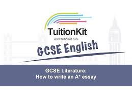 gcse literature how to write an a essay  youtube