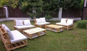 patio furniture from pallets. pallet garden sitting set patio furniture from pallets