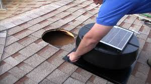 Image result for Attic Exhaust Fan Installation