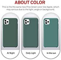 ORNARTO <b>Liquid Silicone</b> Case for iPhone 11 Pro, Slim Liquid ...