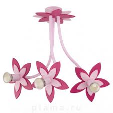 Потолочная <b>люстра</b> детская розовая <b>Nowodvorski</b> Flowers <b>6894</b> ...