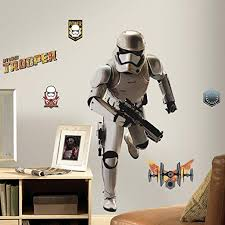 RoomMates <b>Star Wars</b> The Force Awakens Ep VII Storm Trooper ...