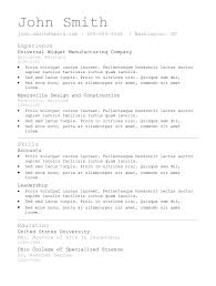 7 simple resume templates best professional resume simple resume format template
