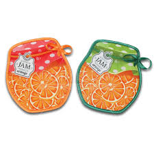<b>Прихватка</b>, 17х15 см, Баночка <b>с</b> апельсинами в ассортименте в ...