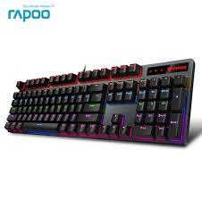 Best Price <b>Rapoo V500PRO 104key Mechanical</b> Keyboard USB ...