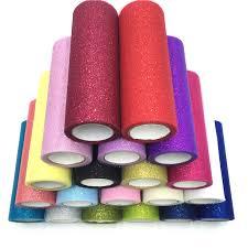 <b>10 Yards</b> Glitter Sheer Crystal Tulle Roll <b>15cm</b> Flash Powder Spool ...