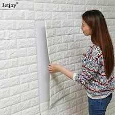 DIY PE Foam 3D Self Adhesive Panels <b>Wall Stickers Home</b> Decor ...