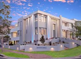 Contemporary Home Designs  Narrow sloping block Designs  Open Plan    Large Contemporary Home Design