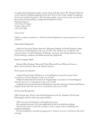 resume objective statement sample good objective sentence for resume objective statement sample resume sample dental hygienist experienced resume sample images dental hygenist hygiene