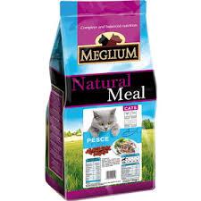 <b>Сухой корм MEGLIUM Natural</b> Meal Cat Adult 🧑 Fish с рыбой для ...